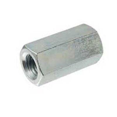 2 Stainless Steel 5/16-18 Coupling Nut