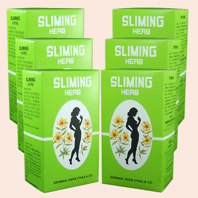 6x50 BAGS WEIGHT LOSS SLIMMING NATURAL TEA FROM GERMAN HERB  FAST & QUICK SLIM