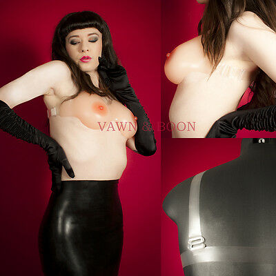 Silicone Breast Form - Bra C D Cup TV TG Cross Dresser Forms Holster Breasts
