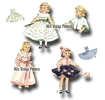 "Miss Revlon Toni Vtg 1950s Doll Princess Angel Pattern ~ 18/"" Sweet Sue"