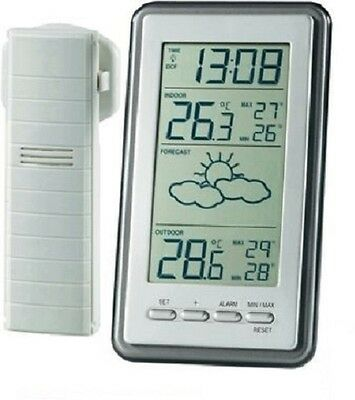 Wireless Weather Station & Outdoor Sensor. Thermometer Ws 9130 Technoline -New!