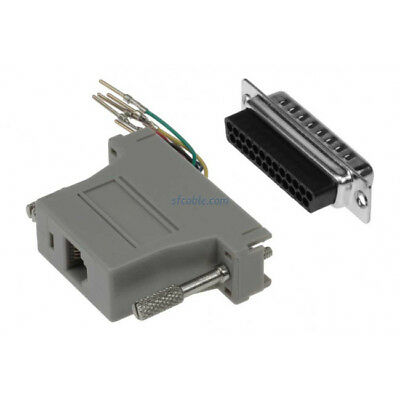10 QTY DB25F to HD50M ADAPTERS