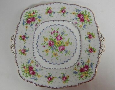 Royal Albert Petit Point Cake Plate