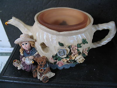 Boyds Bears Yesterday's Child WHITNEY WITH WILSON TEA AND CANDLE LIGHT MIB ED 1E