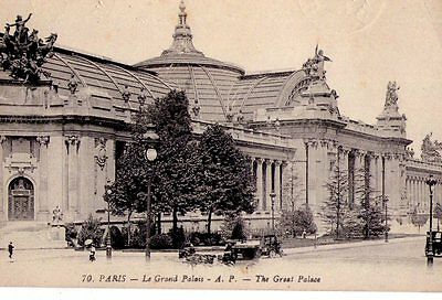 Cpa - Carte Postale:paris/ Le Grand Palais/