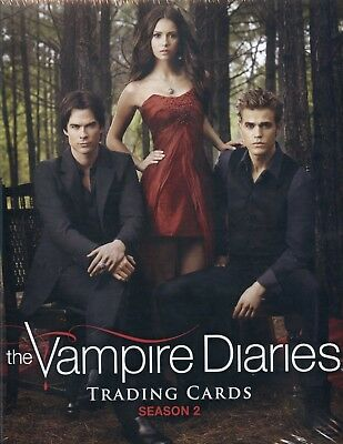 Vampire Diaries Season Two Card Album