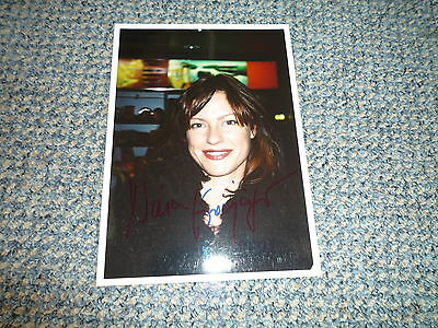 NINA KRONJÄGER  signed Autogramm 13x18 In Person