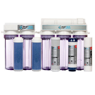 6 Stage Aquarium Reef Reverse Osmosis Water (RO/DI) - 100 GPD | Made in USA