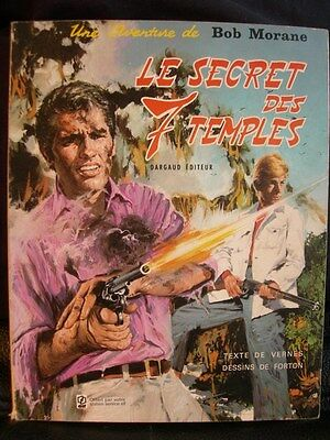 Bd : Bob Morane – Le Secret Des 7 Temples – Dargaud Elf 1972