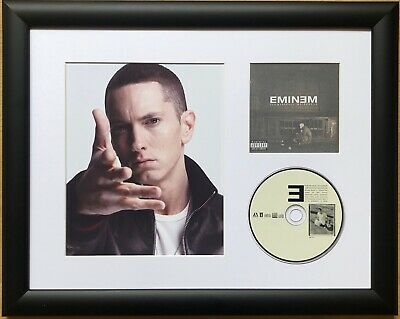 Eminem /Limited Edition /Framed/Photo & CD Presentation /The Marshall Mathers LP