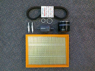 Genuine Ducati Spare Parts Full Service Kit, Cam Timing Belts, Monster 620 02-05