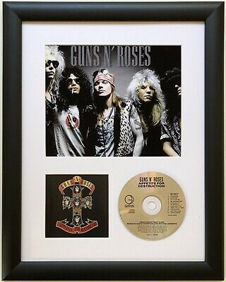 Guns n Roses / Limited Edition / Framed / Photo & CD Presentation