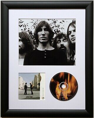 Pink Floyd / Limited Edition /Framed/Photo & CD Presentation/Wish You Were Here