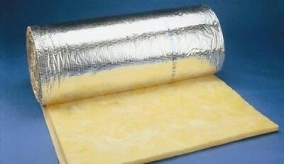 Thermal & Acoustic Duct Ducting Wrap Insulation for Ventilation Duct Pipe Tube