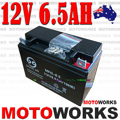 12V 6.5AH Battery 50cc 70cc 90cc 110CC 125CC ATV QUAD Bike Gokart Buggy Dirt