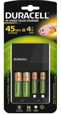 CARICA BATTERIE UNIVERSALE DURACELL CEF22 AA/AAA/C/D/9v  Caricabatterie stilo
