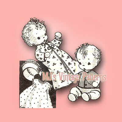 Vintage Sock Doll Pattern ~ Baby Doll Twins