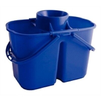 Colour Coded Twin Mop Bucket 15 Litre