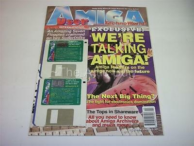 Amiga User International Magazine ~ October 1996 ~ with Cover Disks (NEW)