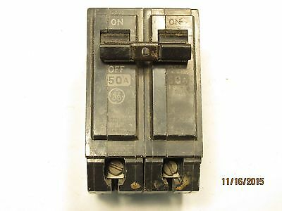General Electric THQL2150 2 Pole 50 Amp 120/240 Volt Circuit Breaker