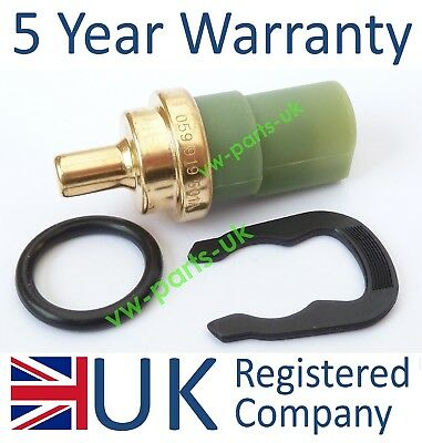 VW Water Coolant Temperature Gauge Sensor 059919501A Temp Sender Clip O ring