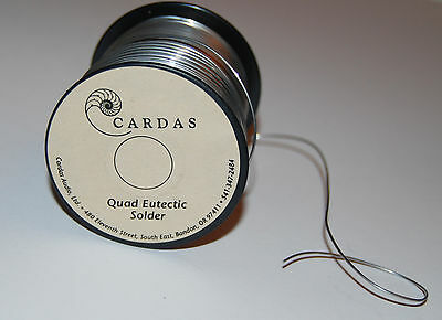 Cardas Quad Eutectic Solder 3.5M Length For Hi Fi Cable