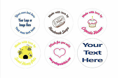 Personalised Custom Stickers Your Text Your Image 3 sizes available