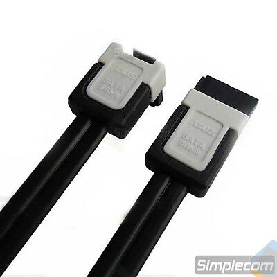 ASUS SATA 3 III 3.0 Data Cable 6Gbps for HDD SSD with Angle and Lead Clip