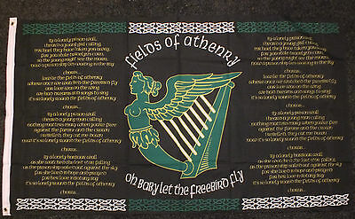 Fields of Athenry Irish Republican Flag Ireland Celtic Erin Eire 1916 Celts bnip