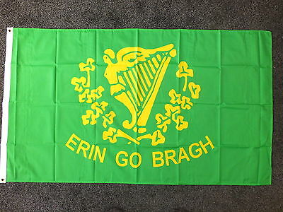 Erin Go Bragh Irish Flag Ireland Republican Eire 1916 Rising Dublin Nationalist