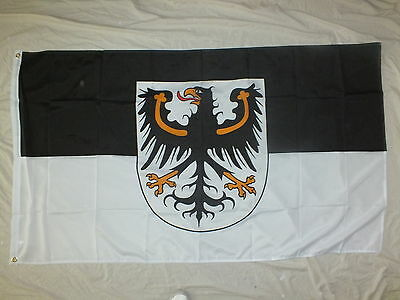 East Prussia German Flag. Prussian Ostpreussen WW1 WW2 Danzig Historic Heraldry