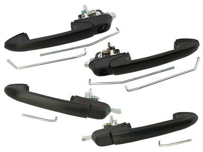 FIAT BRAVA 95-01 FRONT and REAR DOOR OUTER HANDLE LEFT + RIGHT 4 PCS SET
