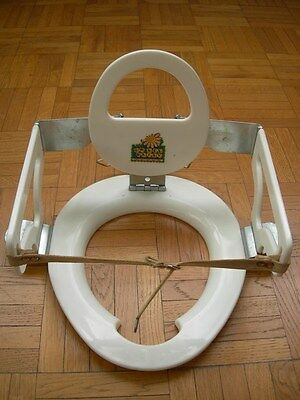Kiddie Seat - Vintage Child Toilet Seat Adapter : Adaptateur Toilette Pour Bebe