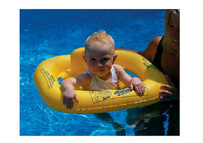 AQUACOACH INFLATABLE BABY Seat Swimline pool FLOAT learn to swim ...