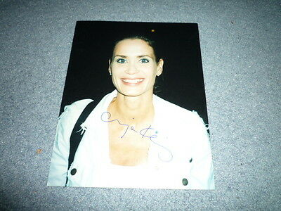ANJA KLING  signed Autogramm 20x25 cm In Person