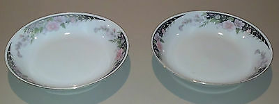 "IMPERIAL'S UNIVERSAL COUPE SOUP CEREAL BOWL 7 1/2"" LOT OF 2 FINE CHINA VERY RARE"