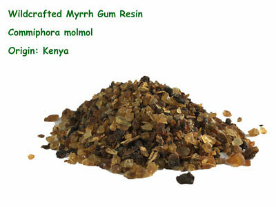 Myrrh Gum Resin 50g Wildcrafted (Commiphora molmol) Free Post