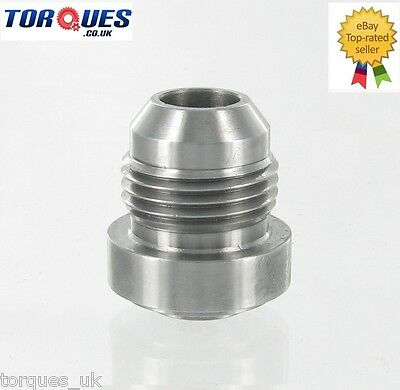 AN -8 (AN8 AN 08) Male Steel Weld On Fitting / Bung