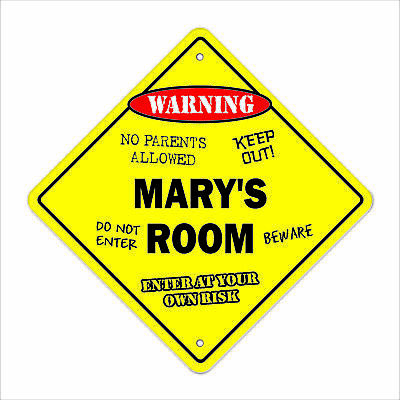 MARY'S ROOM SIGN kids bedroom decor door children's name boy girl gift
