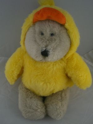 Starbucks Coffee 6th edition Bearista Easter baby chick 1999 Adorable!!