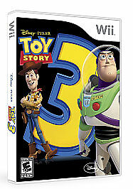 NO BOOK Toy Story 3: The Video Game (Wii, 2010)  NO BOOK Nintendo