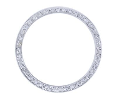 Created Diamond Bezel For 36Mm Rolex Datejust White 1601, 1602, 1603 Part