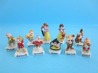 Amazing Miniature Porcelain, Snow White And The 7 Dwarves, Witch *discontinued*