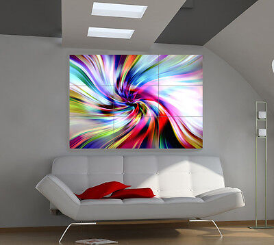 """Colores Carousel Huge Art Giant Poster Wall Print 39""""x57"""" a033"""