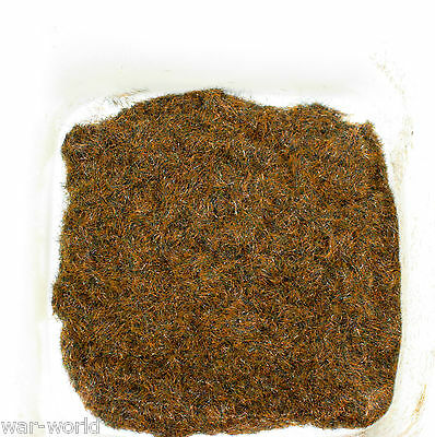 WWS Scorched / Burnt 2mm Static Grass for Wargamers and Railways.