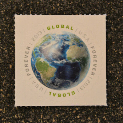 2013USA #4740 Global Forever Rate - First Ever  -  Mint  NH  earth space sase