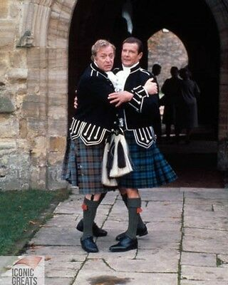 Michael Caine & Roger Moore [1002066] 8x10 photo (other sizes available)