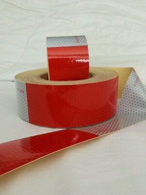 15 Foot Roll -DOT-C2 Reflective Conspicuity Tape Safety * FREE  FAST SHIPPING!!!