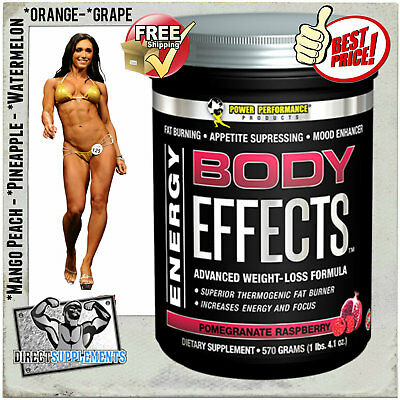 Power Performance Body Effects | 570G | Pre Workout | Fat Burner | Thermogenic
