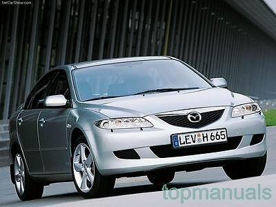 Manual De Taller O Reparacion Mazda  6 Workshop Service